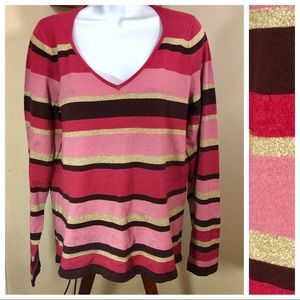 New York & Co. | Woman's Striped Sweater